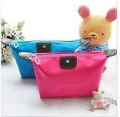 現貨!新款韓版簡約化妝包,可愛糖果色化妝包、旅行收納包、水餃包、零錢包、旅行包