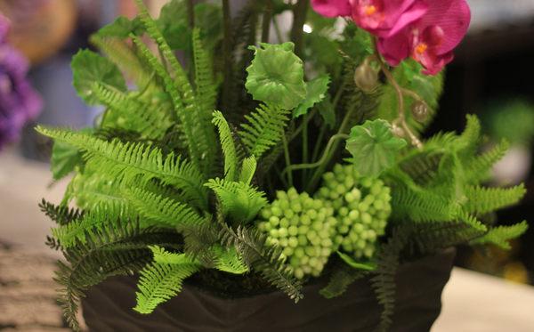 模擬花假花 套裝 花藝 客廳餐桌 裝飾花 花瓶花束 -bri02057