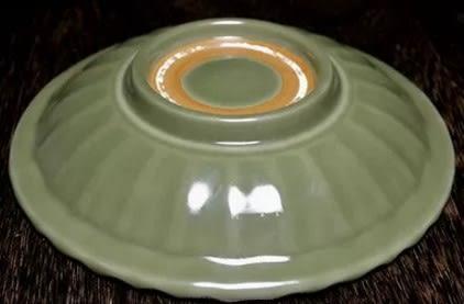 [協貿國際]  青瓷仿元朝釉魚盤精美家居裝飾 (1入)