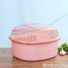 廚房家用帶蓋碗盆碗碟置物架塑料碗櫃裝碗筷收納盒放碗箱瀝水碗架 (橙子精品)
