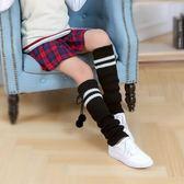 女襪套 襪子 秋冬加厚保暖過膝粗毛線堆堆針織腿套襪護膝護腿運動襪套【多多鞋包店】ps1602