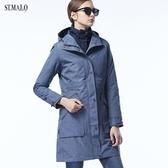 【ST.MALO】極地剋星Sympatex女外套-1843WJ-鳶尾藍