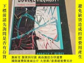 二手書博民逛書店Social罕見Inequality: Forms, Cause