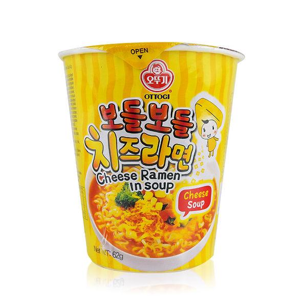 韓國 OTTOGI 不倒翁 起司風味湯杯麵 62g 進口/團購/泡麵/沖泡 ◆86小舖 ◆