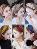 髮箍 風束髪帶甜美森女系頭巾韓國可愛頭帶短髪洗臉頭飾飾品女 卡卡西