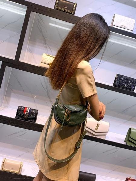 小ck腰包褶皺胸包包女2020新款潮網紅百搭夏天斜背包女包斜跨小包