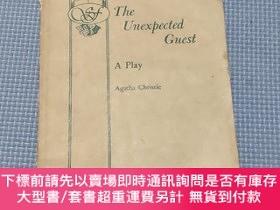 二手書博民逛書店The罕見Unexpected Guest(不速之客)Y408729 Agatha Christie 不祥
