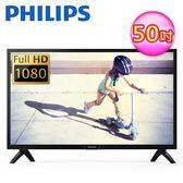 【Philips 飛利浦】50型FHD顯示器+視訊盒 50PFH4002 (含運無安裝)