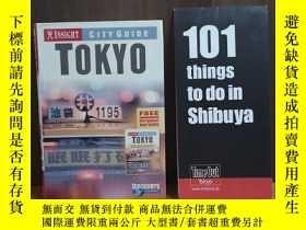 二手書博民逛書店INSIGHT罕見CITY GUIDE TOKYO【有地圖,】附加一張 TIME OUT TOKYO 地圖Y1