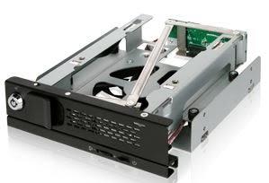ICY DOCK MB171SP-B TurboSwap 無抽取盤 3.5吋 SATA HDD硬碟抽取盒