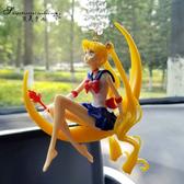 汽車後視鏡掛件車內飾品可愛掛飾女卡通裝飾改裝吊禮物 青山市集