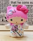 【震撼精品百貨】凱蒂貓_Hello Kitty~日本SANRIO三麗鷗 TKDK限量版擺飾-雙子星LALA#15291