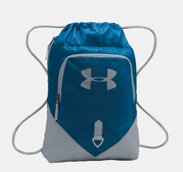 Under Armour UA Undeniable [1261954-997] 健身袋 束口袋 抽繩 輕量 收納 藍