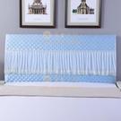 1.5米夾棉彈力床頭罩歐式軟包實木通用床頭防塵套1.8米【慢客生活】