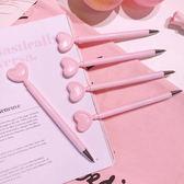 【BlueCat】婚禮小物 粉色大愛心中性筆