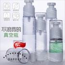 真空按壓瓶-15mL壓克力透明空瓶.分裝瓶/可重複使用 [55880]