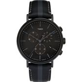 TIMEX 天美時 TXTW2R37800 三眼計時 手錶/41mm