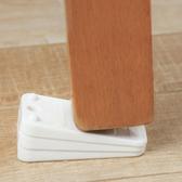 桌腳增高 墊高  增高墊 ABS 抗壓 水平墊 門擋 縫隙 防護 消音 桌椅腳墊(3入) 【K124】生活家精品