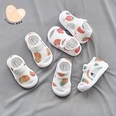 女寶寶涼鞋透氣學步鞋0一1-3歲夏季嬰兒鞋子軟底網面男寶寶沙灘鞋 幸福第一站