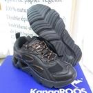 KangaROOS 袋鼠 CRYSTA 休閒運動鞋 慢跑鞋 正品 KW11930 女款 黑【iSport愛運動】