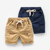 新款童裝小童純棉休閒褲男童夏裝褲子