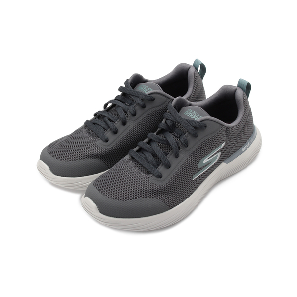 SKECHERS 慢跑系列 GO RUN 400 V2 綁帶運動鞋 灰 220028CHAR 男鞋