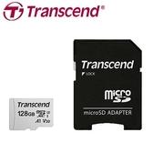 Transcend 創見 microSDXC 300S / 128G 記憶卡 (A1 / U3 / V30 ) 含轉卡