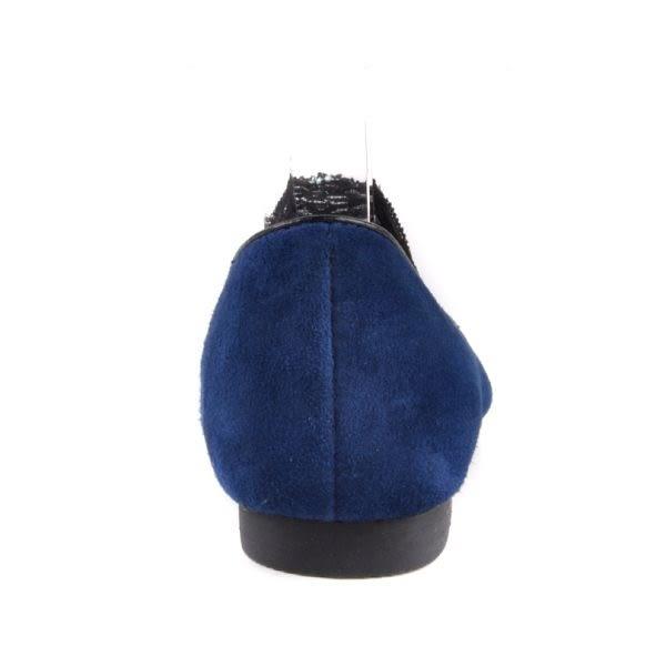 ALL BLACK 鏤空透膚蕾絲百搭休閒鞋*深藍
