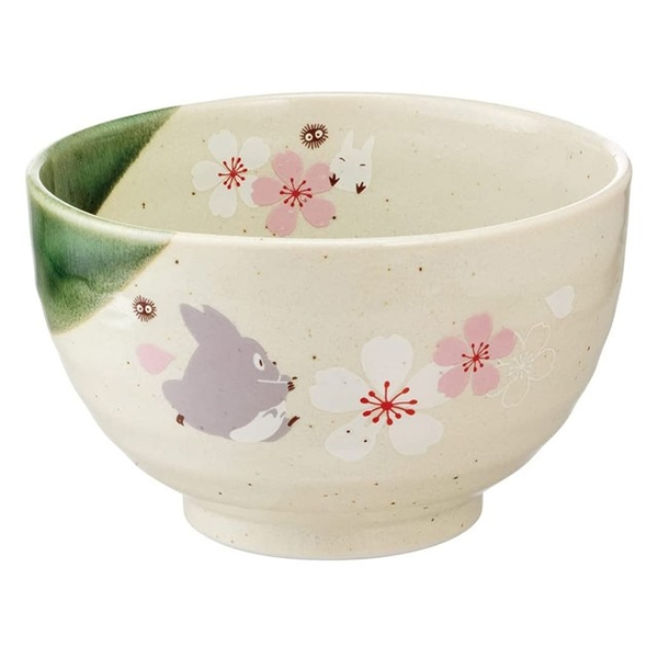 小禮堂 龍貓 日本製 陶瓷碗 (美濃燒) 4973307-54417