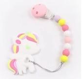 粉紅獨角獸固齒器