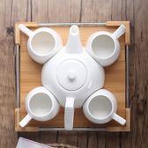 週年慶優惠-歐式咖啡杯具套裝下午茶冷水壺