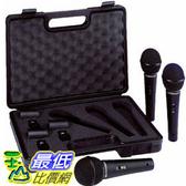 [104美國直購] 德國 動圈式 麥克風 3入 Behringer ULTRAVOICE XM1800S Dynamic Cardioid Vocal Microphones 3-Pack