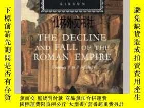 二手書博民逛書店【罕見】1993年出版 The Decline And Fall Of The Roman EmpireY27
