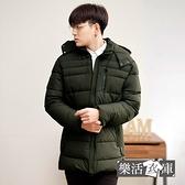 率性YPJN超保暖厚鋪棉長版連帽外套(共二色)● 樂活衣庫【C181】