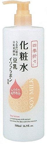 日本 熊野 四季應時 豆乳 保濕 化妝水 500ml 【8081】