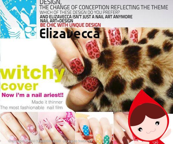 【出清特價】Elizavecca Ang 果凍指甲彩膜 指甲貼片  【小紅帽美妝】