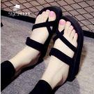 厚底拖鞋女夏平底防滑沙灘鞋YYY603『毛菇小象』