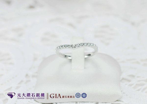 ☆元大鑽石銀樓☆鉑金戒指『遇見愛』I-Primo style*結婚戒、求婚戒、對戒、線戒*