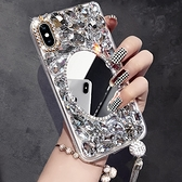 IPhone12 iPhone11 Pro Max 12mini SE2 XS Max IX XR i8 i7 Plus i6S 蘋果手機殼 水鑽殼 客製 手做 化妝鏡鑽殼