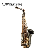 【敦煌樂器】Weissenberg A-603BG Alto 中音薩克斯風 鍍黑身金漆塗裝款