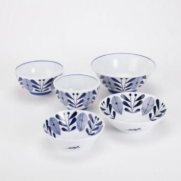 日本藍楓林輕量飯碗 14.5cm