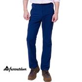男薄款耐磨多口袋防潑水彈性防曬長褲(HPM013 海軍藍)【戶外趣】