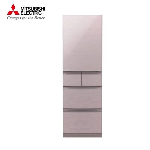 [MITSUBISHI 三菱]455公升 日本原裝五門變頻冰箱-水晶粉 MR-BC46Z-P【門市展示新品 限定台南以南】