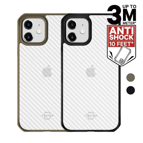 ITSKINS iPhone 12/mini/Pro/Pro Max HYBRID TEK 防摔保護殼 [富廉網]