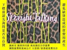 二手書博民逛書店JANE罕見GREEN Straight TalkingY136