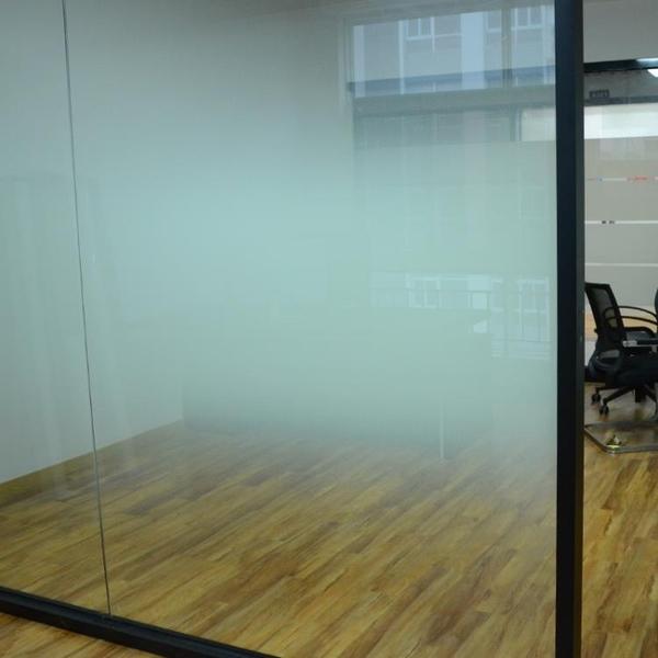 單向漸變圓點膜半透明蒙砂膜家用辦公室霧磨砂裝飾玻璃貼膜法紗膜 mks宜品