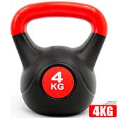 4KG壺鈴重力4公斤壺鈴(8.8磅)拉環啞鈴搖擺鈴舉重量訓練運動健身器材哪裡買KettleBell特賣會
