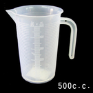 塑膠量杯 耐熱量桶(500cc) 量杯 ...