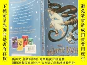 二手書博民逛書店the罕見worst witch 最壞的女 .巫 ...Y200392
