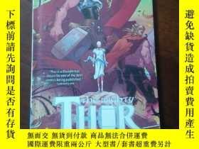 二手書博民逛書店Marvel罕見The Mighty Thor: Ragnarok 漫威的雷神:仙境傳說 英文原版 漫威漫畫Y